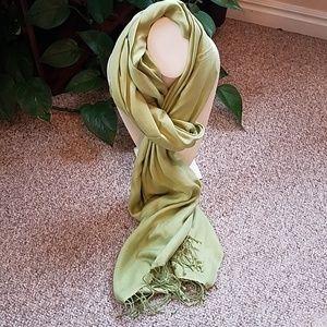 NWT 100% Silk Shawl/Scarf from Nepal